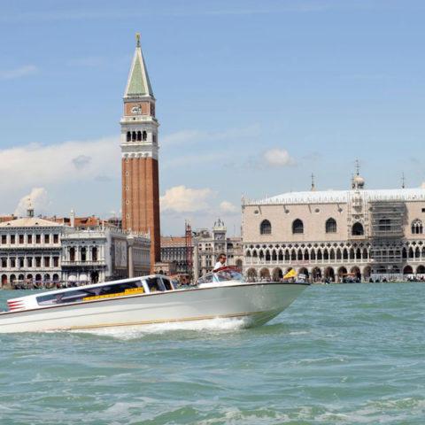 venice taxi boat